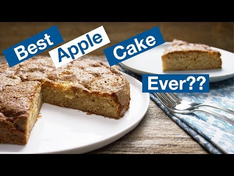 Amazingly Great! French Apple Cake     Le Gourmet TV Recipes