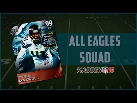 Madden 15 Ultimate Team | All Philadelphia Eagles Team - Super Bowl Spoiler