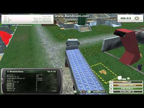 Farming Simulator 2013 Animals - Feeding Ostriches
