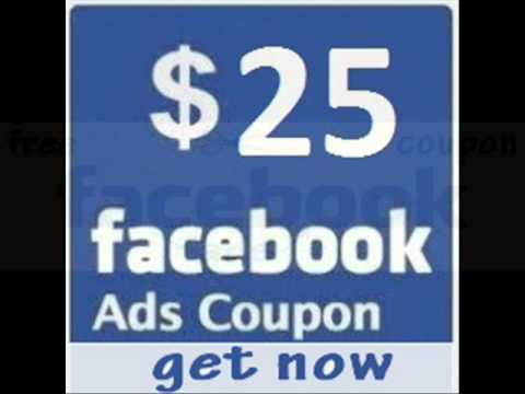 get free facebook ads coupon $25.wmv