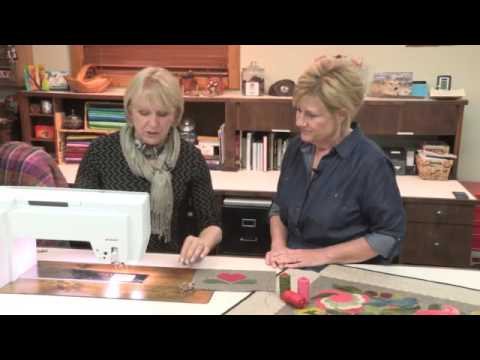 The Quilt Show: BERNINA - Wonderful Wool! Threads and Applique