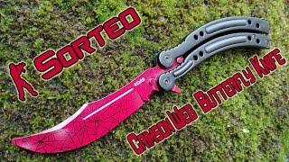 """Consigue GRATIS tu cuchillo """"Crimson Web"""" del CS:GO"""