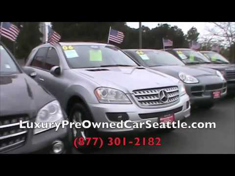 Used Luxury Cars Seattle WA | http://LuxuryPreOwnedCarSeattle.com