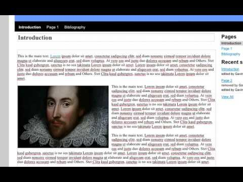 Adding images and media to your Web-based Essay in Google Sites