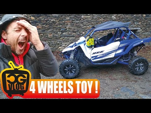 Yamaha YXZ 1000 R TEST DRIVE - Pushing the limit on snow and ice - CG VLOG # 307
