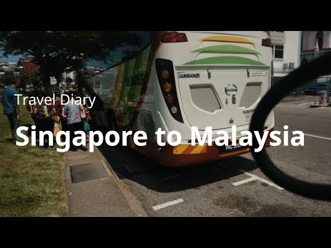 Singapore to Malaysia by BUS (Sentral Melaka) - Travel Diary