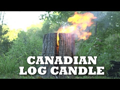 Canadian Candle DIY