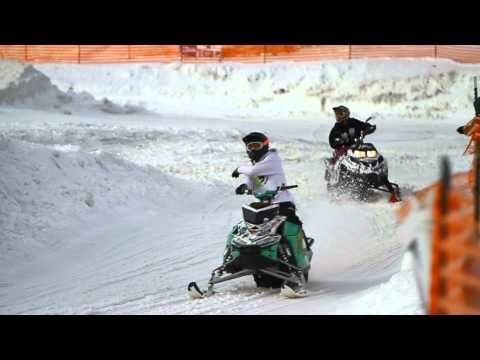 Snowmobile Backflip & Freestyle Slow Motion (1000 fps)
