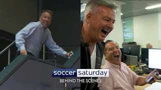 What happens behind-the-scenes on Soccer Saturday?!
