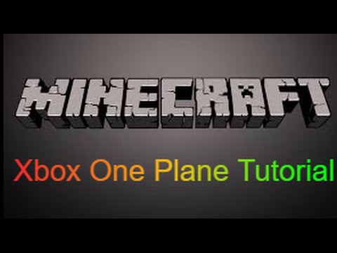 How to make a working airplane in Minecraft Xbox One Edition