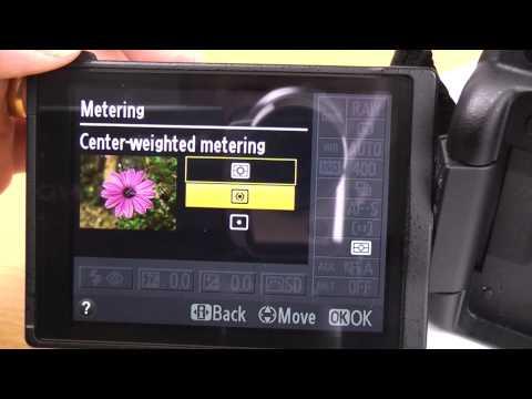 Nikon D5100 beginner basic guide part 1 Info screen settings tutorial