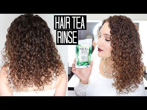 Tea Rinse for Hair - Stop Shedding/Hair Loss, Promote Growth | Belle Bar