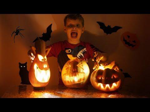 Halloween preparation Best scary pumpkin carving ideas