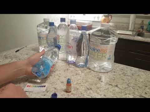 Eternal water PH test