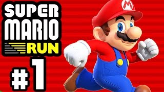 SUPER MARIO RUN # 01 ★ Super Mario Mobile-Gaming! [HD60] Let