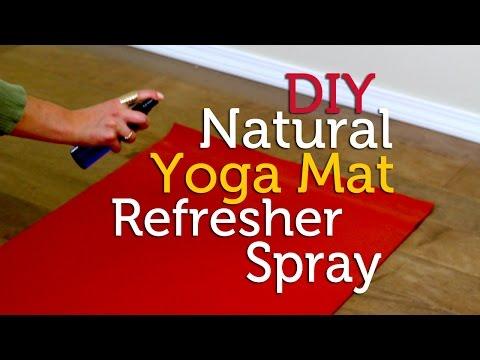 How to Make Natural Yoga Mat Spray | DIY