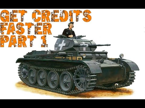 World of Tanks Blitz - Get Credits Faster Part 1