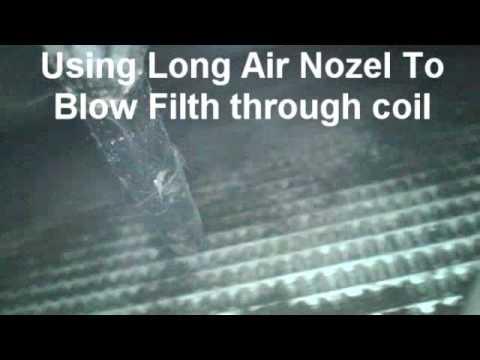DIY Clean Car Condenser Coil