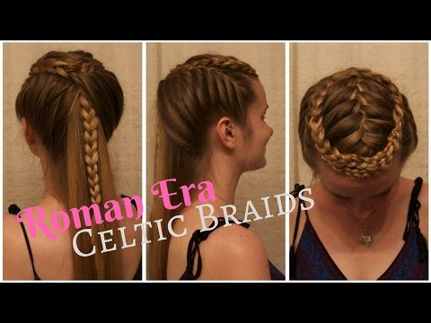 Celtic Warrior Braids Inspired by the Film,