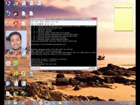 Root user Password Break in Redhat Enterprise Linux 7