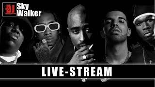 DJ SkyWalker Sunday Live Mix | Hip Hop RnB Rap OldSchool NewSchool Music