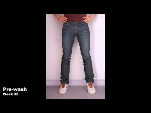 Josh's Nudie Jeans 15 Month Time-Lapse - Front