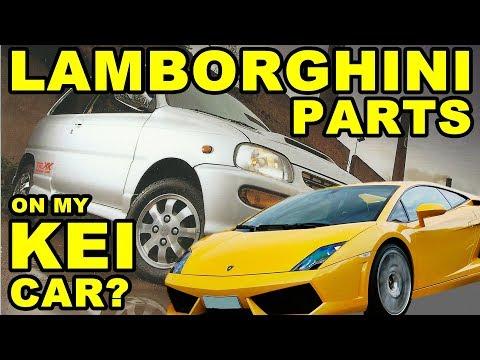 A Lamborghini & A Kei Car? The Oddities Of Interchangeability - Cuore Avanzato Project Episode 9