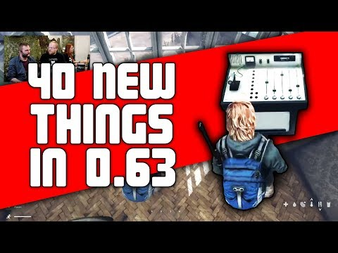 40 New Things in 0.63 DayZ Standalone