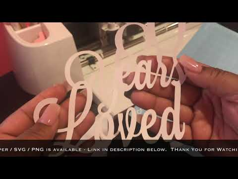 How to use svg files/ Cricut Design Space/ DIY Cake Topper