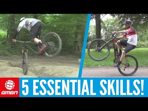Essential Mountain Bike Skills You Can Do Anywhere!