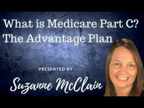 What is Medicare Part C, The Advantage Plan