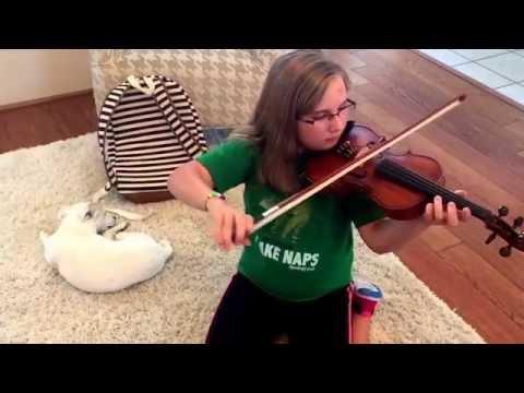 Twinkle ✨ Twinkle ✨ First week of violin playing.