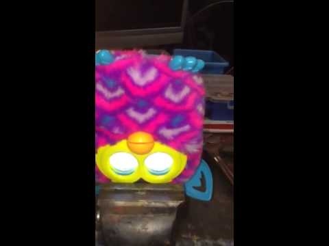 How to change a furbies personality