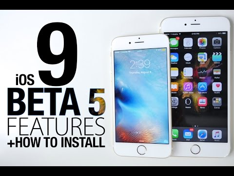 iOS 9 Beta 5 Released! NEW Features Review + How To Install