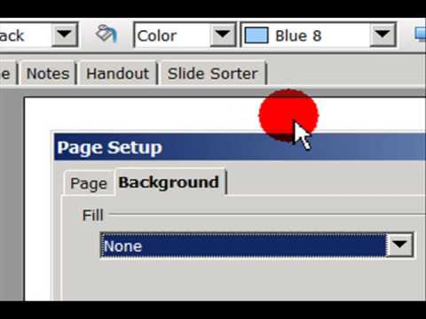 Learn How To Add Textured Background &  Bitmap Image in Slide (OpenOffice.Org Impress)