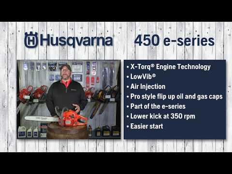 Details of the Husqvarna 450e Chainsaw