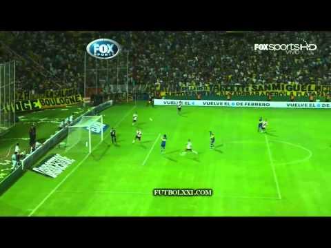 Gol de Mouche. Boca 1 - River 0. Superclásico 2012.
