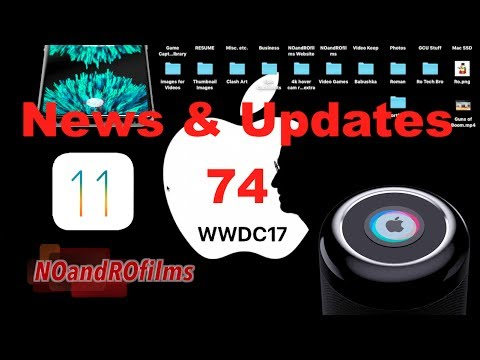 Preview to WWDC 2017 with iOS 11, Siri Speaker & iPad | Weekly Apple Updates 74 