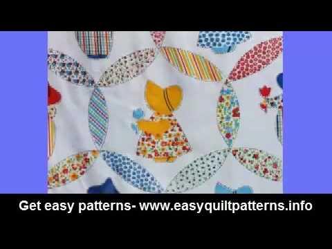 easy quick quilts modern sunbonnet sue quilt pattern