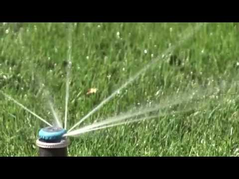 Save Water By Using Efficient Sprinkler Nozzles