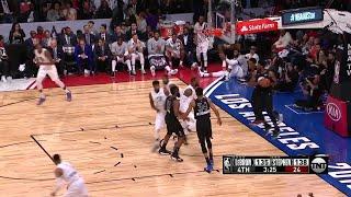 4th Quarter, One Box Video: Team Stephen vs. Team LeBron