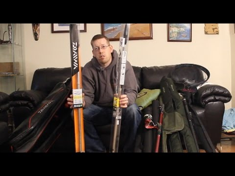 Travel Rods Review. My travel rods and nets for fishing.