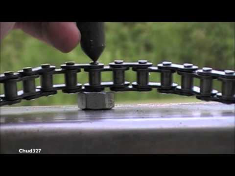 Shortening a Go Cart Chain Without a Chain Breaker