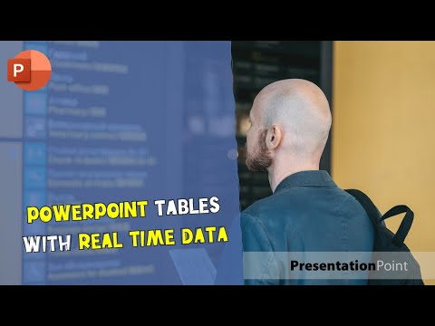 PowerPoint Tables with Real-Time Data