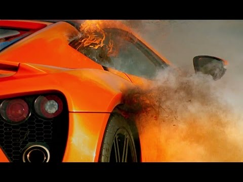 Zenvo ST1: Fire On The Track! - Top Gear - Series 21 - BBC