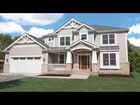 Custom House in Arlington Heights by US Shelter Homes