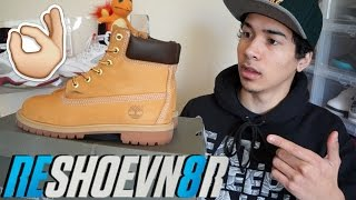 How To Clean Timberland Boots Tutorial Using Reshoevn8r Crepprotect