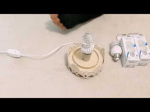 DIY Dica de qual lampada usar na luminária de PVC