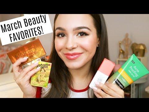 March 2018 Beauty Favorites!