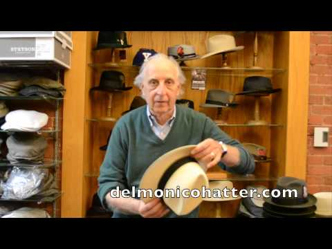 How to Handle a Panama Straw Hat | DelMonicoHatter.com